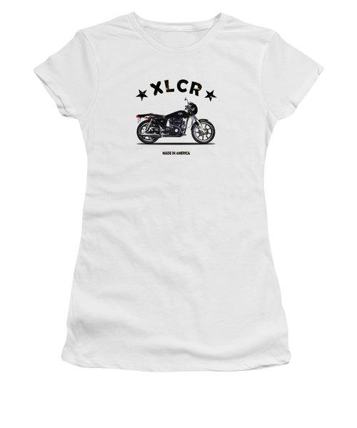 Harley Davidson Xlcr 1977 Women's T-Shirt