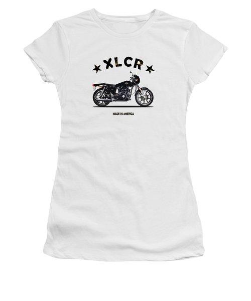 Harley Davidson Xlcr 1978 Women's T-Shirt