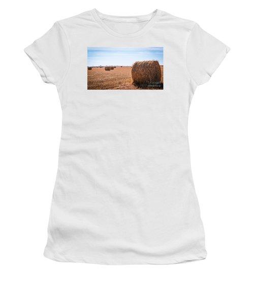 Hay Rolls Women's T-Shirt