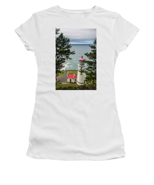 Heceta Head Lighthouse Women's T-Shirt