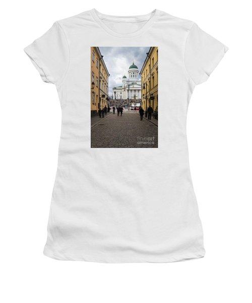 Helsinki Streets Women's T-Shirt