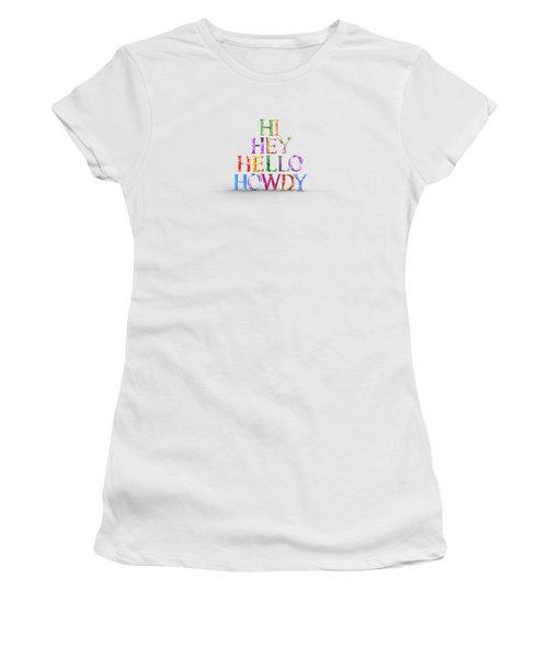 Hi Women's T-Shirt