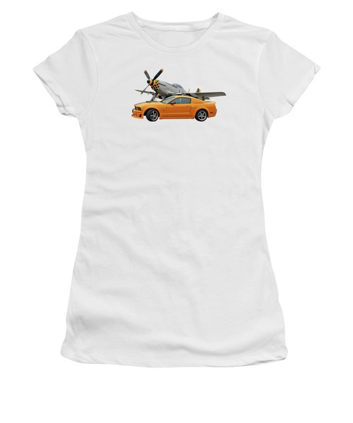 High Flyers - Mustang And P51 Women's T-Shirt