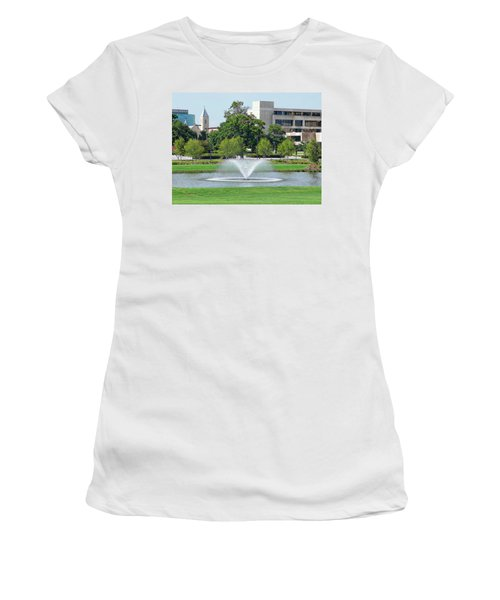 Women's T-Shirt (Athletic Fit) featuring the photograph Historic Pensacola by Anthony Dezenzio