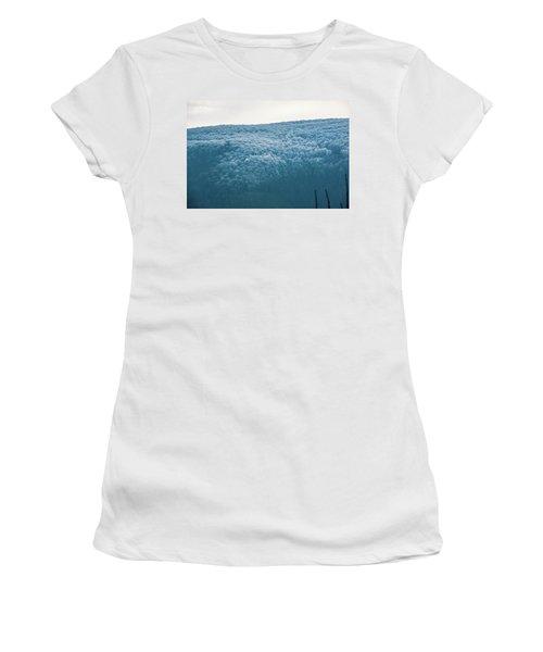 Hoarfrost Blue Mountain Women's T-Shirt