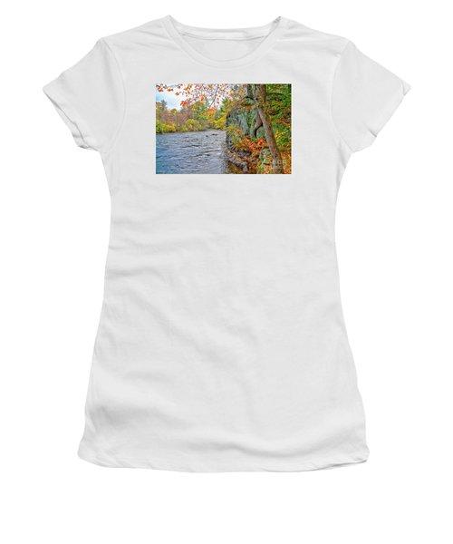 Hogback Dam Pool Women's T-Shirt