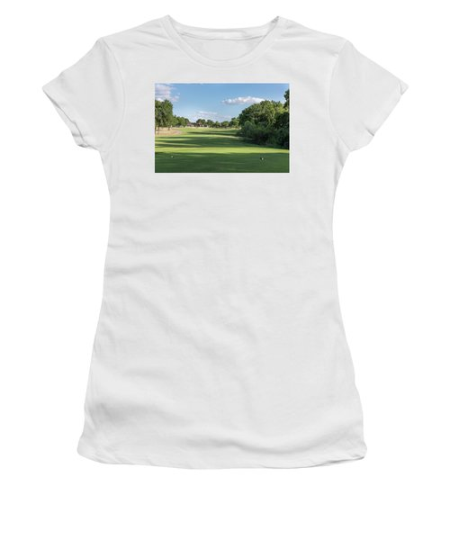 Hole #11 Women's T-Shirt (Athletic Fit)