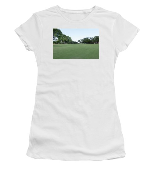 Hole #13 Women's T-Shirt (Athletic Fit)