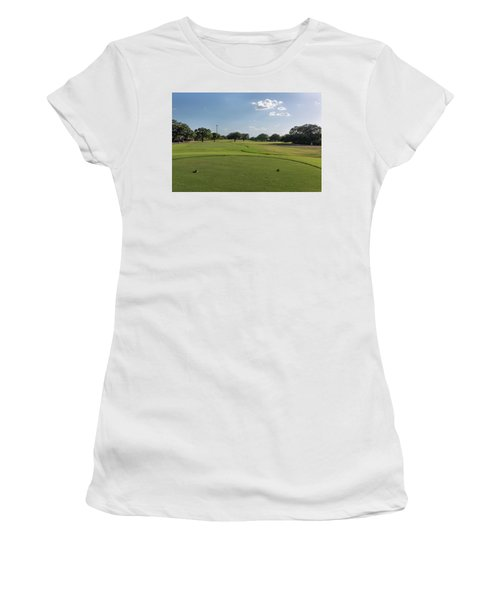 Hole #15 Women's T-Shirt (Athletic Fit)