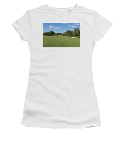 Hole #2 Women's T-Shirt (Athletic Fit)