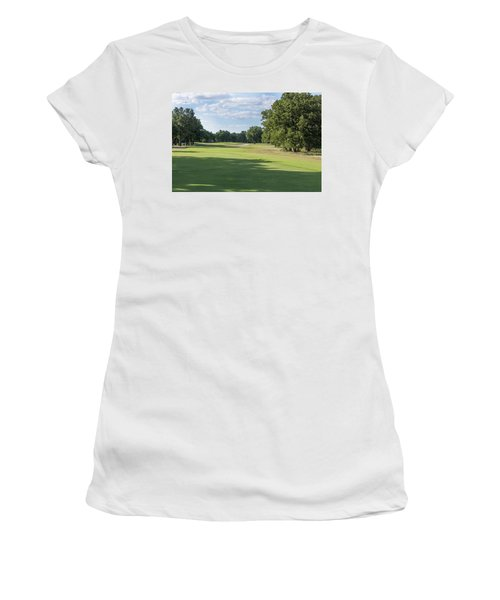 Hole #3 Women's T-Shirt (Athletic Fit)