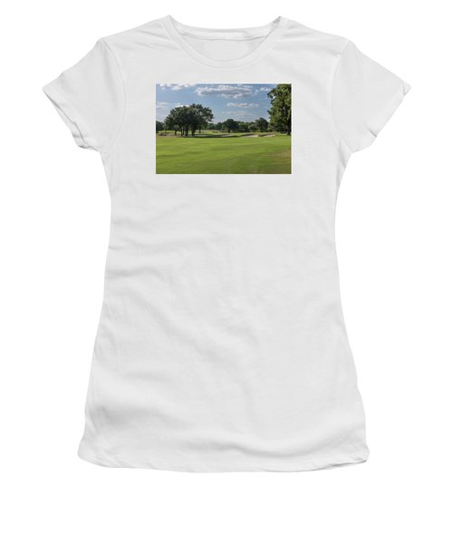 Hole #5 Women's T-Shirt (Athletic Fit)