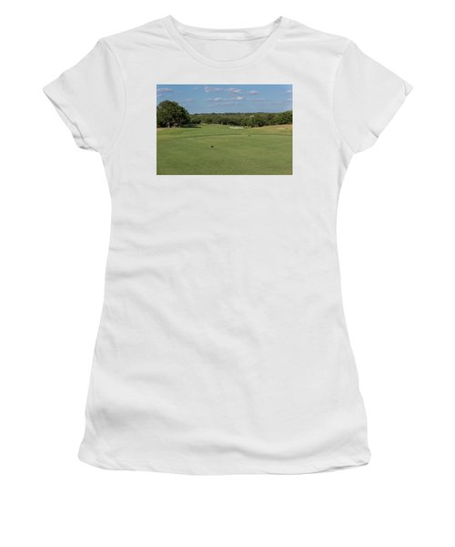 Hole #7 Women's T-Shirt (Athletic Fit)