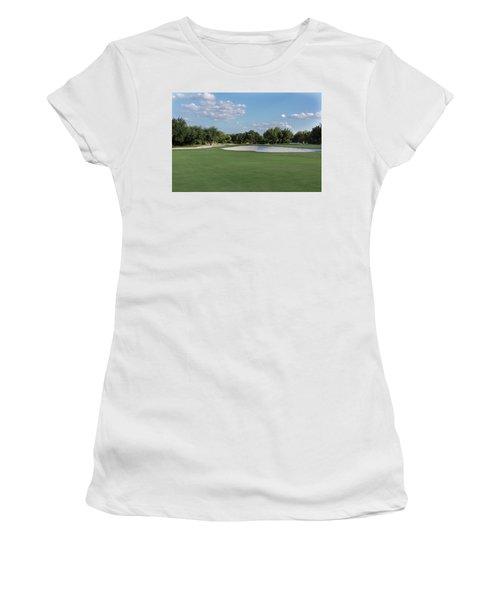 Hole #8 Women's T-Shirt (Athletic Fit)