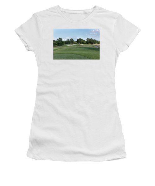 Hole #9 Women's T-Shirt (Athletic Fit)
