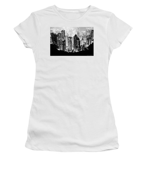 Hong Kong Nightscape Women's T-Shirt