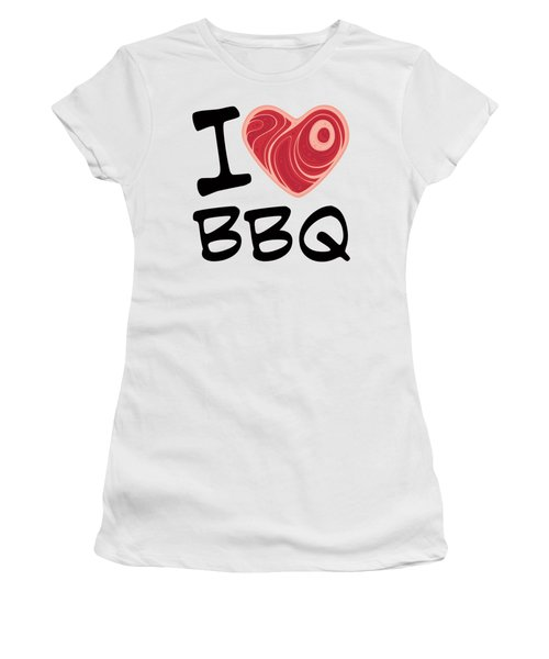 I Love Bbq Women's T-Shirt