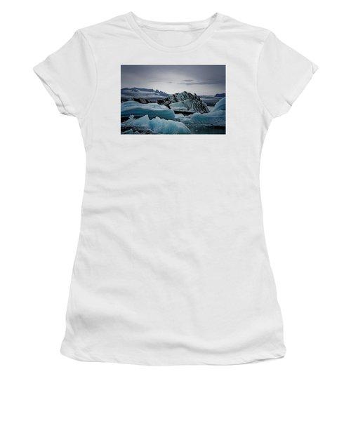 Icy Stegosaurus Women's T-Shirt