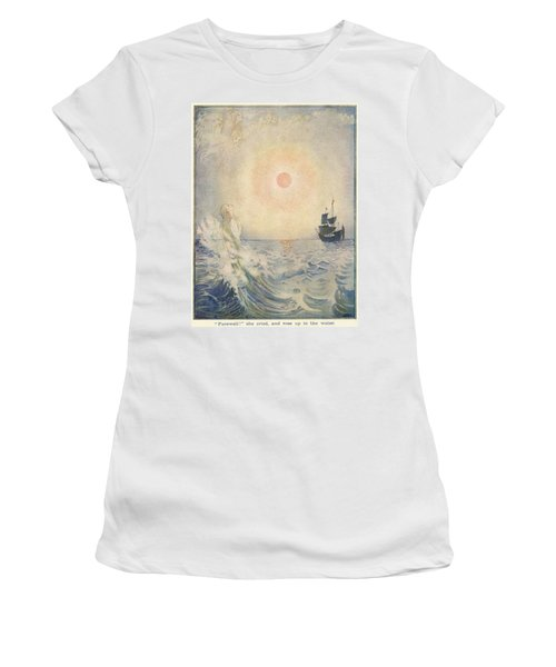 The Little Mermaid, Illustration From  Women's T-Shirt
