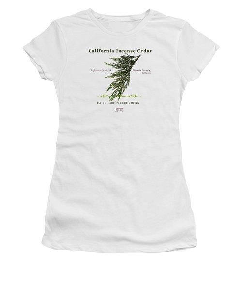 Incense Cedar - Brpwn Text Women's T-Shirt