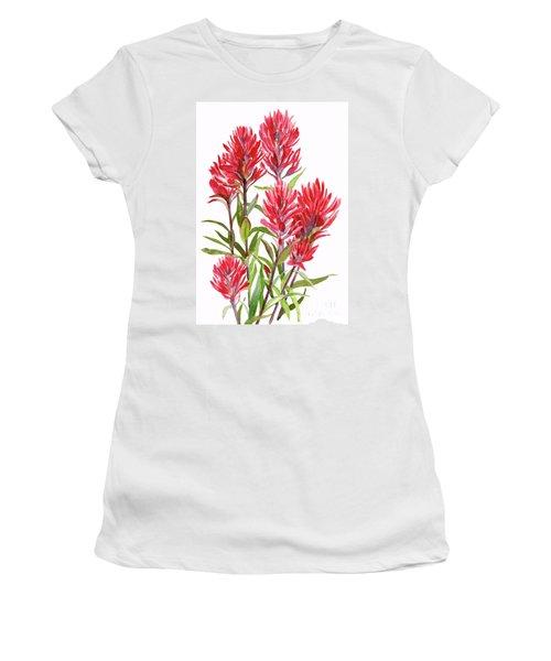 Indian Paintbrush Women's T-Shirt