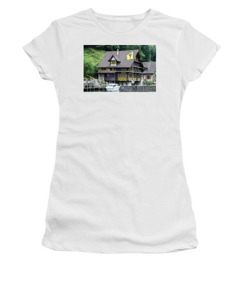 Inn On Lake Lucerne Women's T-Shirt