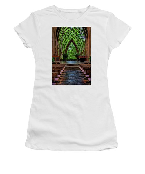 Inside The Chapel Women's T-Shirt (Athletic Fit)