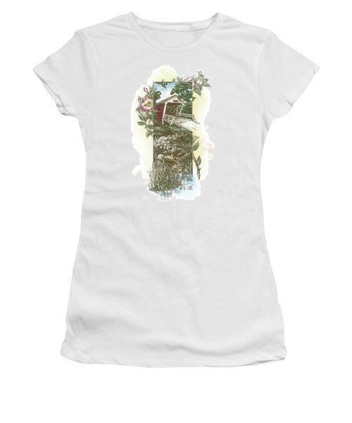 Iowa Covered Bridge Women's T-Shirt