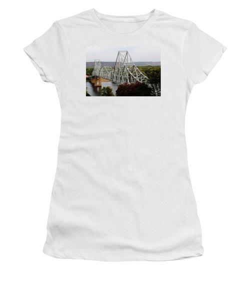 Iowa - Mississippi River Bridge Women's T-Shirt