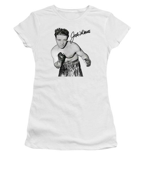 Jake Lamotta - Bronx Bull Boxing Chamption 1949 - T-shirt Women's T-Shirt