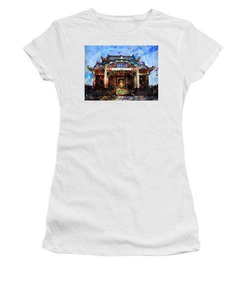 Japanese Warships Temple Women's T-Shirt