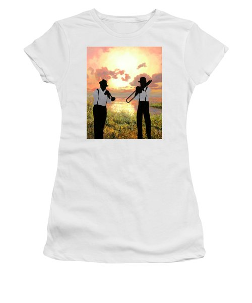 Jazz Al Tramonto Women's T-Shirt