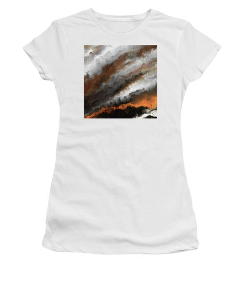 Jeremiah 20 9 Fire In My Heart Women's T-Shirt