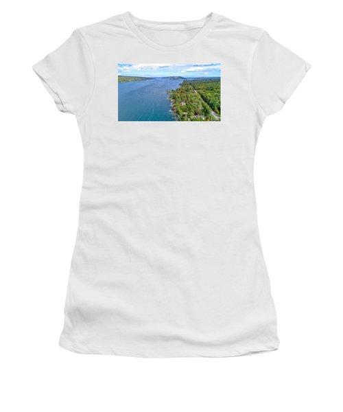 Keuka Center Point Women's T-Shirt
