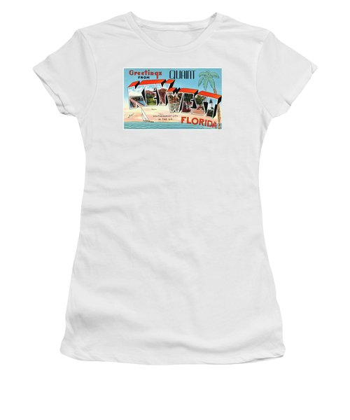 Key West Greetings Women's T-Shirt