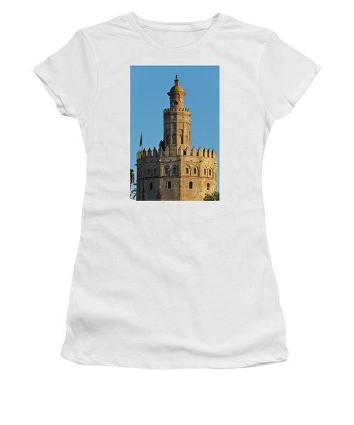 La Torre De Oro Detail. Seville Women's T-Shirt