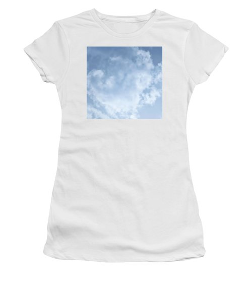 Women's T-Shirt featuring the photograph Lace Agate Sky by Judy Kennedy