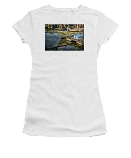 Lake Dardanelle Marina Women's T-Shirt (Athletic Fit)