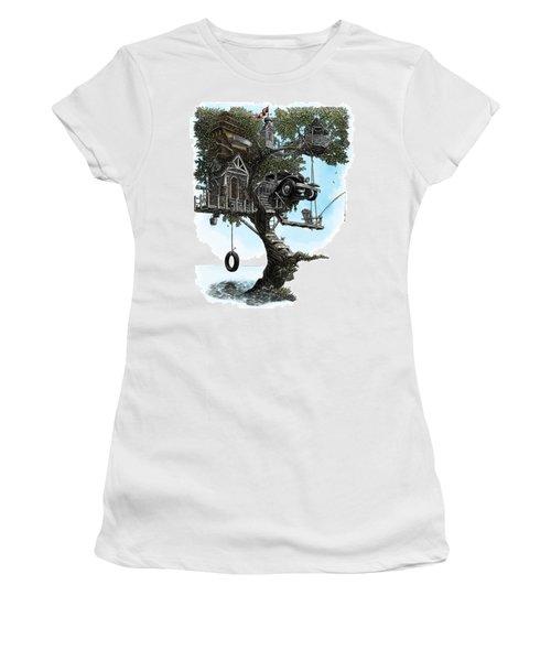 Lake Front Dream House Women's T-Shirt