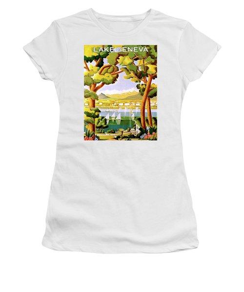 Lake Geneva Women's T-Shirt