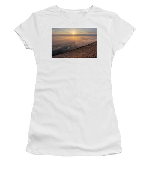 Women's T-Shirt featuring the photograph Lake Michigan Overlook 13 by Heather Kenward