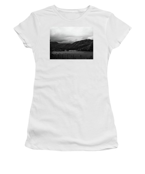Women's T-Shirt featuring the photograph Lakesview by JLowPhotos