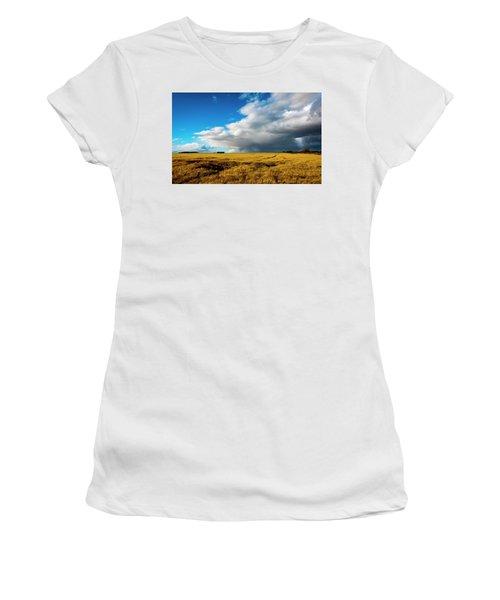 Late Summer Storm With Tornado Women's T-Shirt