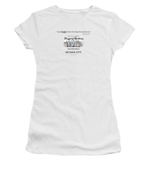 Laughter Is The Best Medicine - Apothecary Women's T-Shirt