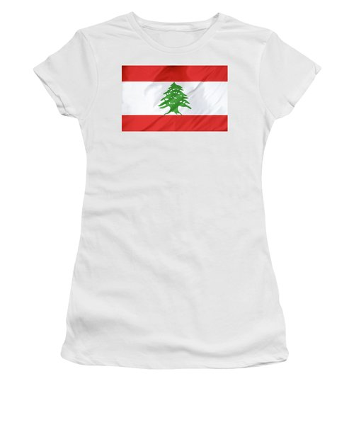 Lebanon Flag Women's T-Shirt