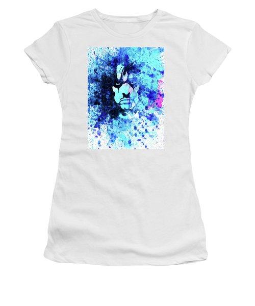 Legendary Alice Cooper Watercolor Women's T-Shirt