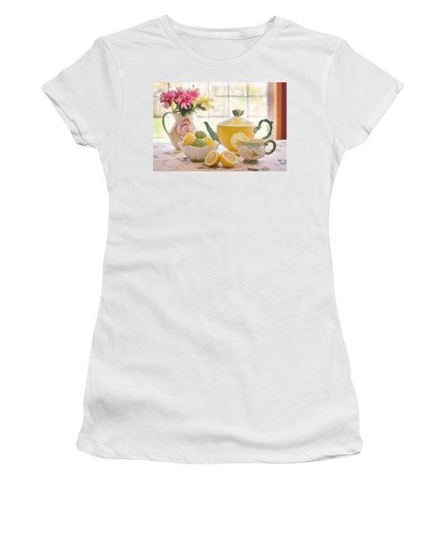 Lemon Tea  Women's T-Shirt