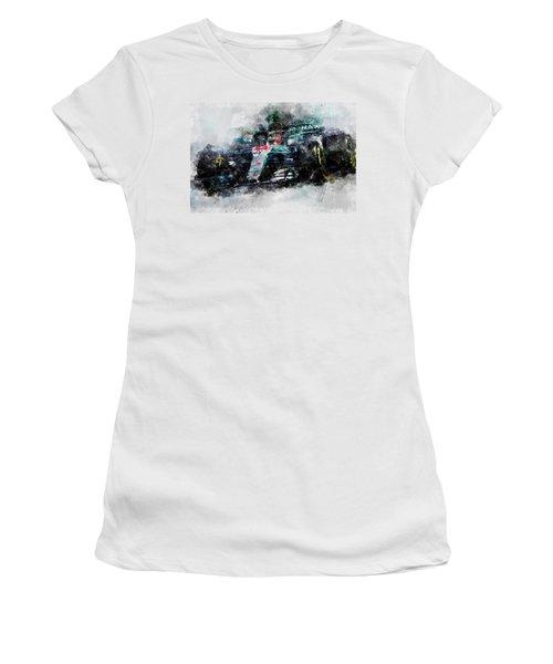 Lewis Hamilton, Mercedes Amg F1 W09 - 10 Women's T-Shirt