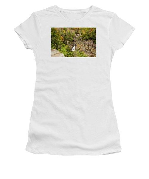 Linville Falls - Wide View Women's T-Shirt