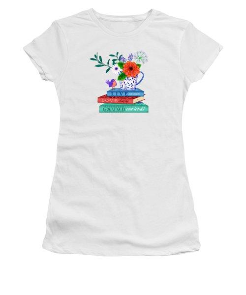 Live Laugh Love Women's T-Shirt
